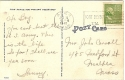 Fort Devens post card back