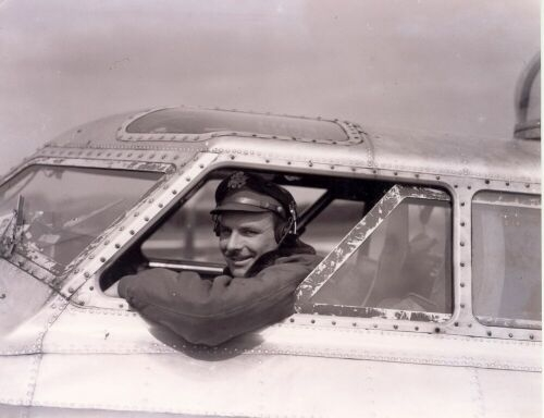 George W. McLeod, 349th Pilot, E-Z Goin' Crew