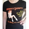 Humpty Dumpty Woman's T-Shirt (Black)
